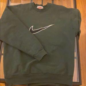 Vintage Nike Crewneck Forest Green